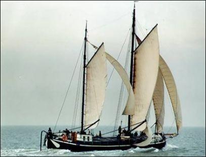 Aller, Hasselt keen/lahnaak (Segelboot)