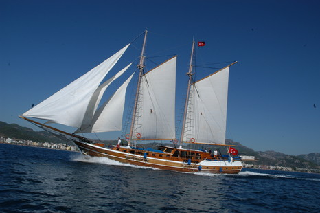 Yesil Marmaris Custom Ketch picture 1 - click to enlarge