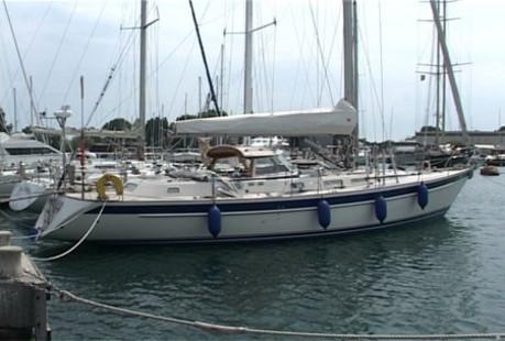 Data of the charter boat - sailboat / sailing yacht Hallberg Rassy 46 ...