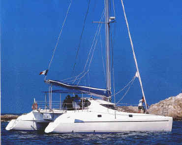 Fountaine Pajot Athena 38 (sailboat)