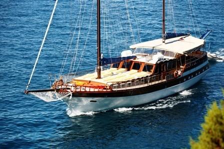 Ketch motor-sailor (Segelboot)