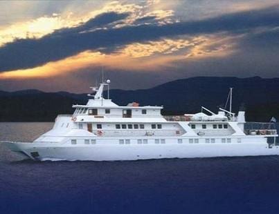Luxuskatamaran (Motorboot)